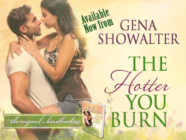 Happy Release + Review: The Hotter You Burn by Gena Showalter – The