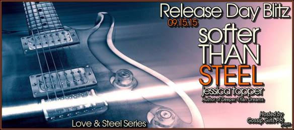 Softer Than Steel Release Day Banner